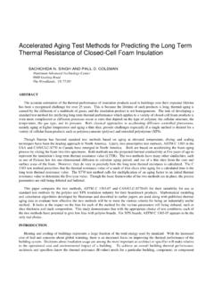 Accelerated Aging Test Methods for Predicting the …