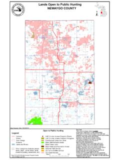 Lands Open to Public Hunting NEWAYGO COUNTY - …