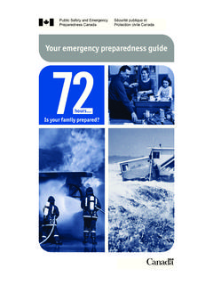Your emergency preparedness guide