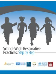 School-Wide Restorative Practices: Step by Step