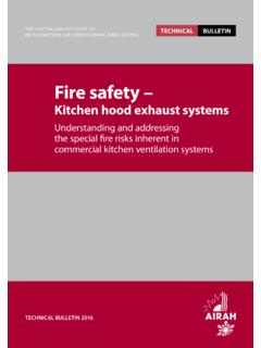 Fire safety - AIRAH