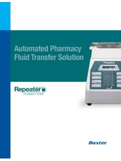 Automated Pharmacy Fluid Transfer Solution