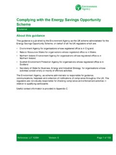 Complying with the Energy Savings Opportunity Scheme (ESOS)