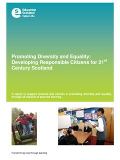 Promoting Diversity and Equality: Developing Responsible ...