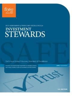 investment stewards - Fi360