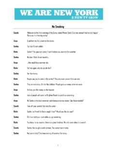 ESL 2 'No Smoking' Transcript - New York City