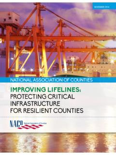 ImprovIng LIfeLInes: Protecting critical infrastructure ...