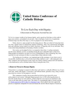 United States Conference of Catholic Bishops - …