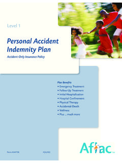 Personal Accident Indemnity Plan - wabash.edu