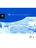 Why Take A Life Cycle Approach? - UNEP