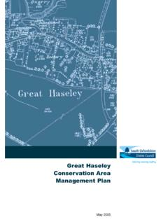 Main Heading Great Haseley Conservation Area …
