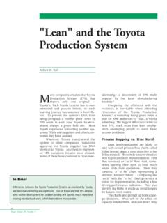 Lean and the Toyato production - Home | …