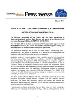 LAUNCH OF JOINT CONCENTRATED INSPECTION …