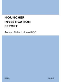 Mouncher Investigation Report - assets.publishing.service ...
