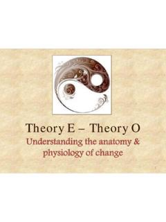 Theory E – Theory O - Human Viewpoint