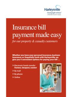 Insurance bill payment made easy - Nationwide