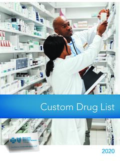 Custom Drug List - bcbsm.com