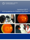 Updated 2017 ICO Guidelines for Diabetic Eye Care