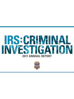 2017 ANNUAL REPORT - Internal Revenue Service