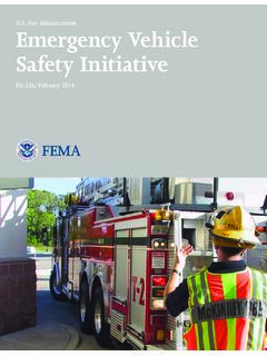 Emergency Vehicle Safety Initiative - U.S. Fire Administration