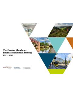 The Greater Manchester Internationalisation Strategy