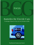 Batteries for Electric Cars - BCG