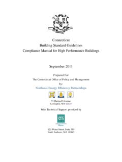 Connecticut Builidng Standard Guidelines …