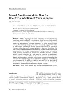 Sexual Practices and the Risk for HIV STDs Infection of ...