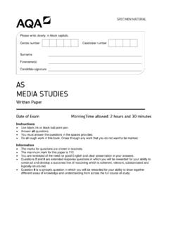 AS MEDIA STUDIES - filestore.aqa.org.uk