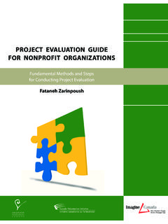 Copyright for Project Evaluation Guide For Nonprofit ...