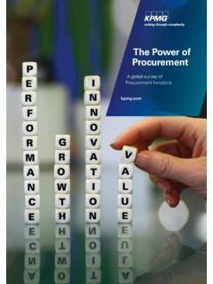 The Power of Procurement - assets.kpmg