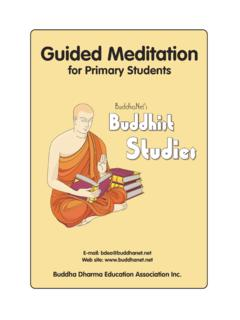 Guided Meditation for Primary Students - Buddhism