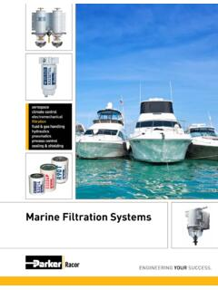 Marine Filtration Systems - RG Group