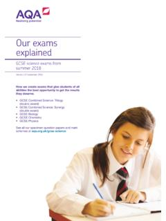 Our exams explained - filestore.aqa.org.uk