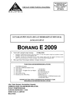 E 2009 WebTemplate - hasil.gov.my