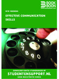 Effective Communication Skills - Sterrenstages