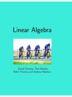 David Cherney, Tom Denton, Rohit Thomas and Andrew …