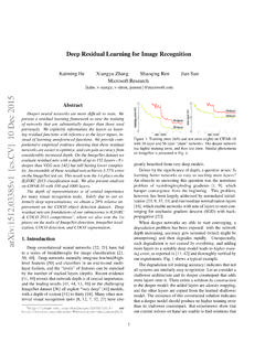 Deep Residual Learning for Image Recognition - …