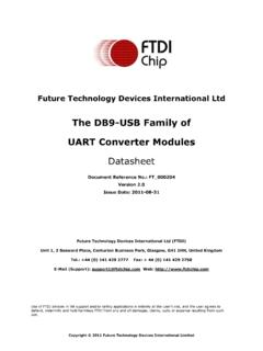 Future Technology Devices International Ltd - FTDI