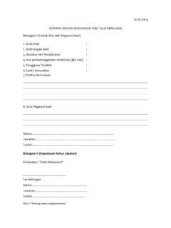 Kerajaan Malaysia Tatacara Pengurusan Aset Alih Kerajaan Kerajaan Malaysia Tatacara Pengurusan Aset Alih Kerajaan Pdf Pdf4pro