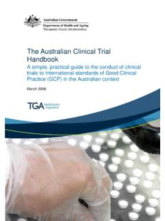 The Australian Clinical Trial Handbook - Alfred Health