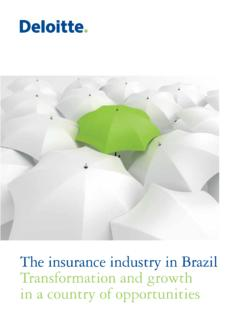 The insurance industry in Brazil Transformation …