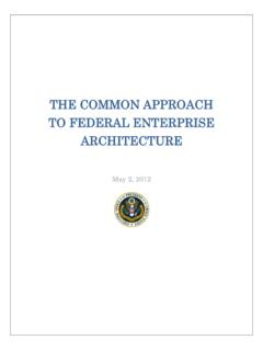 THE COMMON APPROACH TO FEDERAL …
