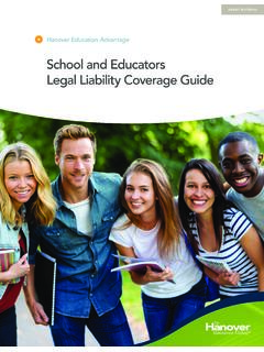 School and Educators Legal Liability Coverage Guide