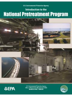 Introduction to the National Pretreatment Program