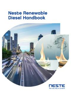 Neste Renewable Diesel Handbook