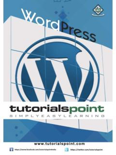WordPress - Tutorials Point