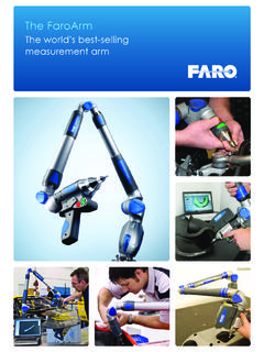 The FaroArm - 3D Modeling Services and Solutions