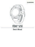 FĒNIX® 5/5S Owner's Manual - Garmin International