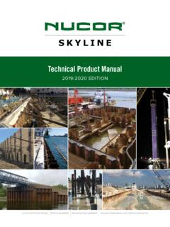Technical Product Manual - nucorskyline.com